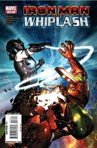 Iron Man vs. Whiplash #3 comic books for sale