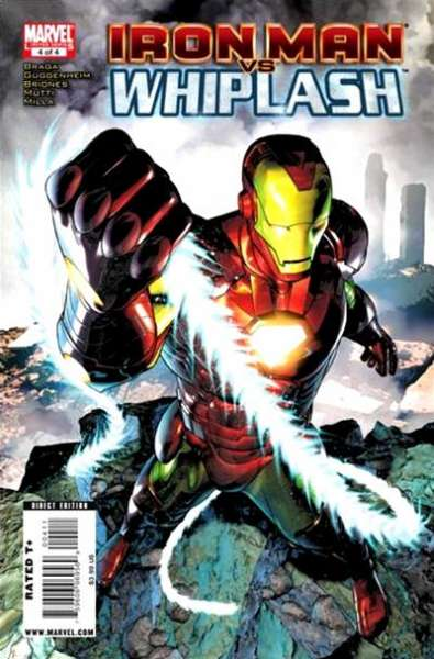 Iron Man vs. Whiplash #4 comic books - cover scans photos Iron Man vs. Whiplash #4 comic books - covers, picture gallery