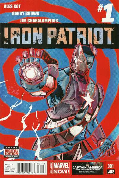 Iron Patriot #1 comic books - cover scans photos Iron Patriot #1 comic books - covers, picture gallery