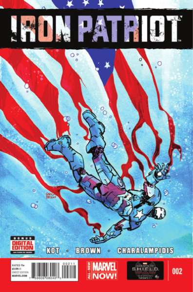 Iron Patriot #2 comic books for sale