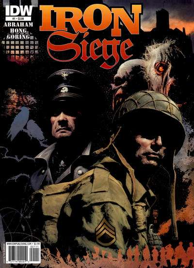 Iron Siege Comic Books. Iron Siege Comics.