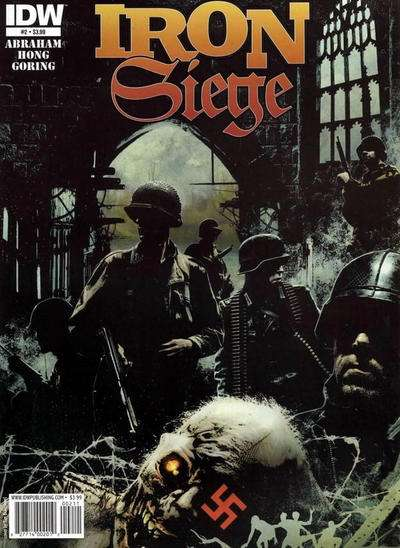 Iron Siege #2 comic books - cover scans photos Iron Siege #2 comic books - covers, picture gallery