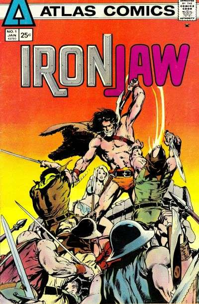 Ironjaw Comic Books. Ironjaw Comics.
