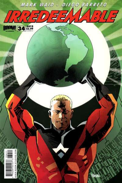 Irredeemable #34 Comic Books - Covers, Scans, Photos  in Irredeemable Comic Books - Covers, Scans, Gallery