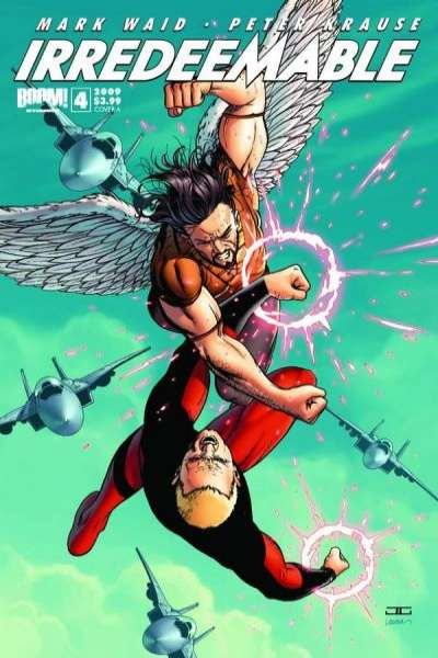 Irredeemable #4 Comic Books - Covers, Scans, Photos  in Irredeemable Comic Books - Covers, Scans, Gallery
