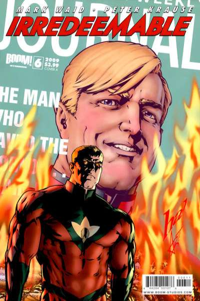 Irredeemable #6 Comic Books - Covers, Scans, Photos  in Irredeemable Comic Books - Covers, Scans, Gallery