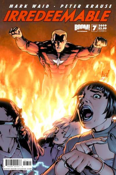 Irredeemable #7 comic books for sale