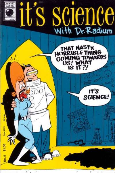 It's Science with Dr. Radium #5 Comic Books - Covers, Scans, Photos  in It's Science with Dr. Radium Comic Books - Covers, Scans, Gallery