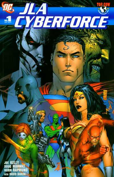 JLA/Cyberforce comic books