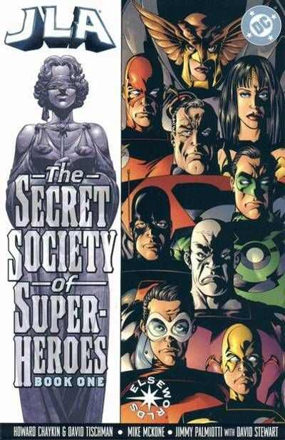 JLA: Secret Society of Super-Heroes #1 Comic Books - Covers, Scans, Photos  in JLA: Secret Society of Super-Heroes Comic Books - Covers, Scans, Gallery