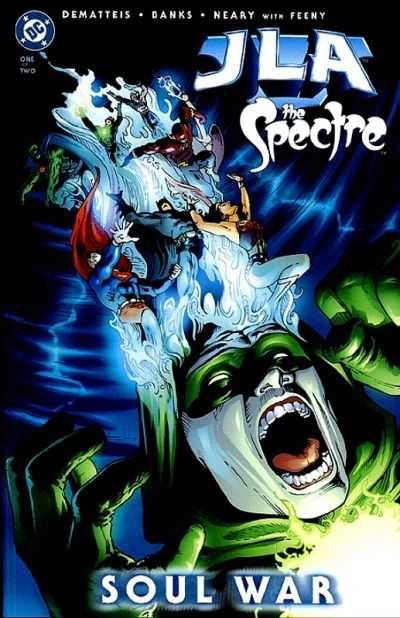 JLA/Spectre: Soul War #1 comic books - cover scans photos JLA/Spectre: Soul War #1 comic books - covers, picture gallery