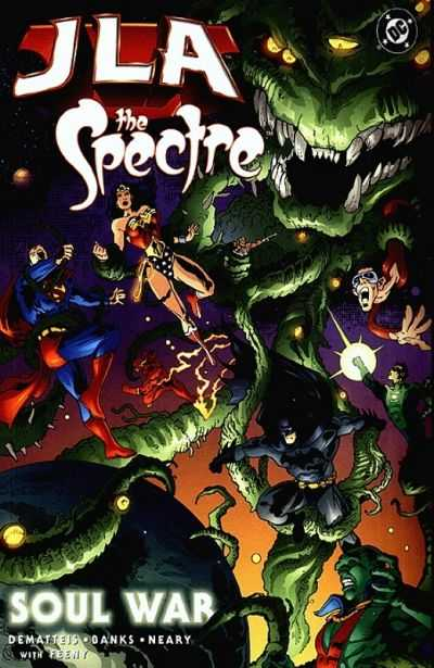JLA/Spectre: Soul War #2 Comic Books - Covers, Scans, Photos  in JLA/Spectre: Soul War Comic Books - Covers, Scans, Gallery