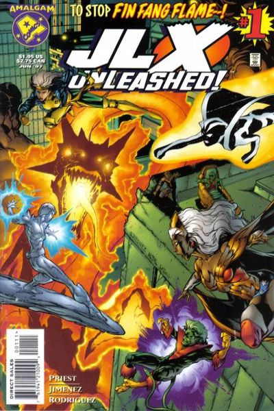 JLX Unleashed #1 comic books for sale