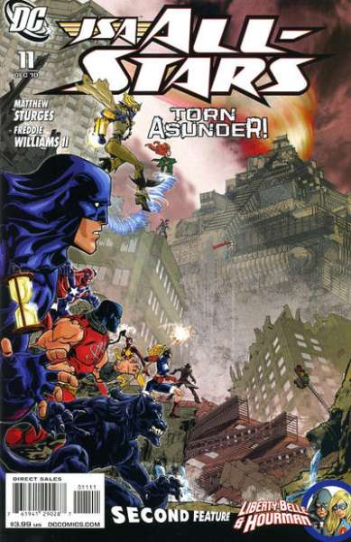 JSA: All Stars #11 comic books - cover scans photos JSA: All Stars #11 comic books - covers, picture gallery