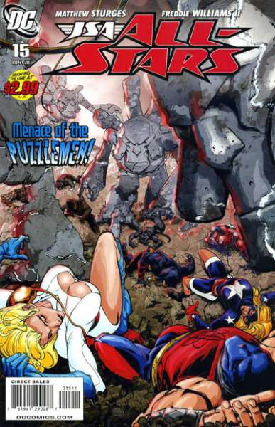 JSA: All Stars #15 Comic Books - Covers, Scans, Photos  in JSA: All Stars Comic Books - Covers, Scans, Gallery