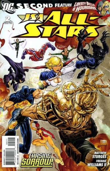 JSA: All Stars #2 Comic Books - Covers, Scans, Photos  in JSA: All Stars Comic Books - Covers, Scans, Gallery
