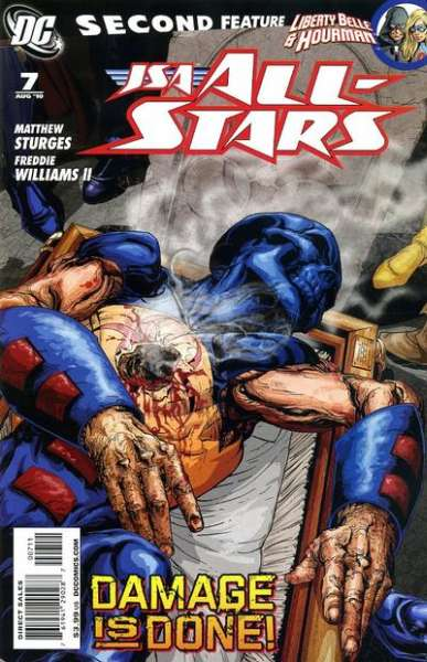 JSA: All Stars #7 comic books - cover scans photos JSA: All Stars #7 comic books - covers, picture gallery