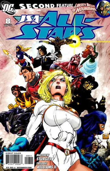 JSA: All Stars #8 comic books - cover scans photos JSA: All Stars #8 comic books - covers, picture gallery
