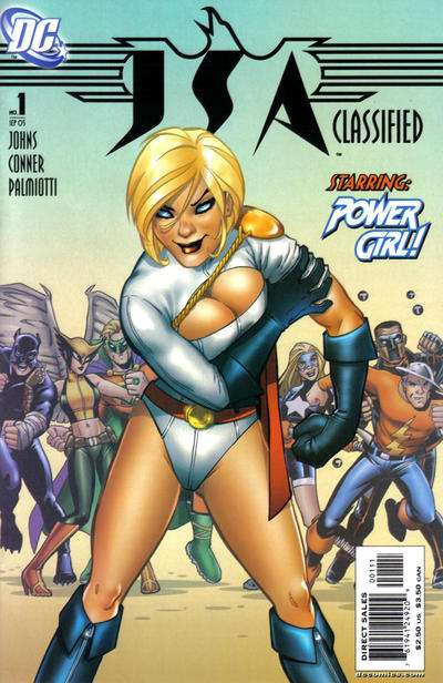 JSA: Classified comic books