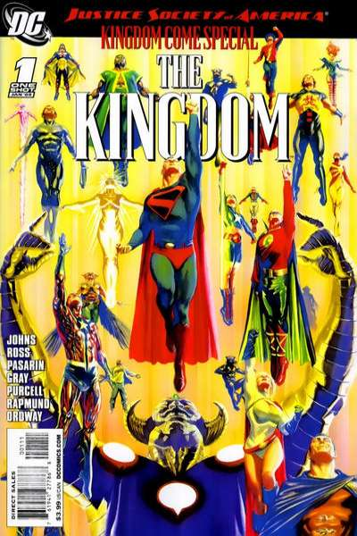 JSA Kingdom Come Special: The Kingdom #1 comic books - cover scans photos JSA Kingdom Come Special: The Kingdom #1 comic books - covers, picture gallery