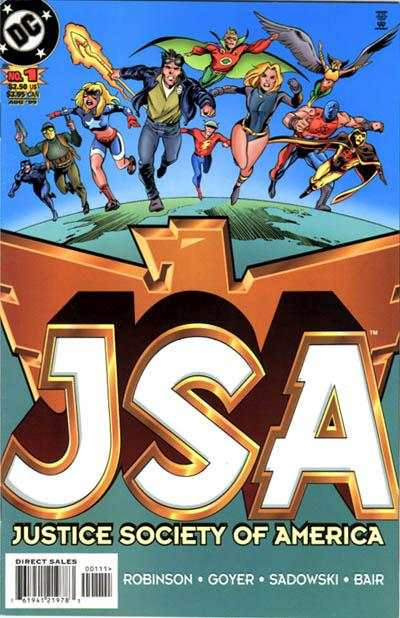 JSA comic books
