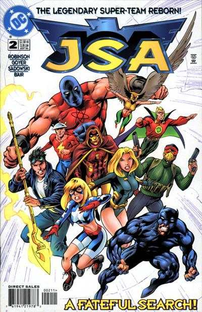 JSA #2 comic books - cover scans photos JSA #2 comic books - covers, picture gallery