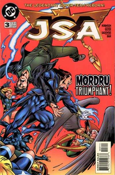 JSA #3 comic books - cover scans photos JSA #3 comic books - covers, picture gallery