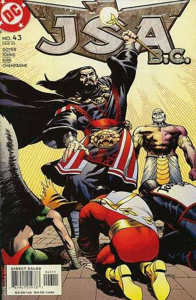 JSA #43 comic books - cover scans photos JSA #43 comic books - covers, picture gallery