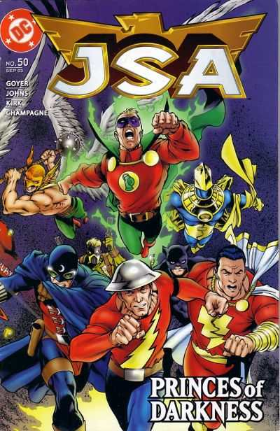 JSA #50 comic books - cover scans photos JSA #50 comic books - covers, picture gallery
