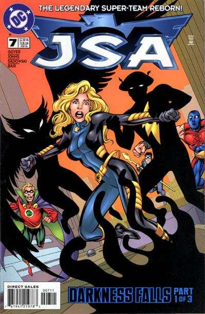 JSA #7 comic books - cover scans photos JSA #7 comic books - covers, picture gallery