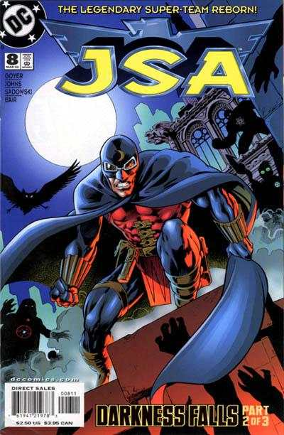 JSA #8 comic books - cover scans photos JSA #8 comic books - covers, picture gallery