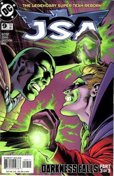 JSA #9 comic books - cover scans photos JSA #9 comic books - covers, picture gallery