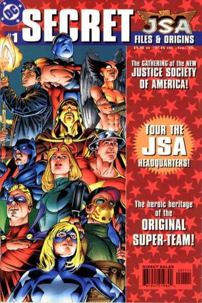 JSA #1 comic books for sale
