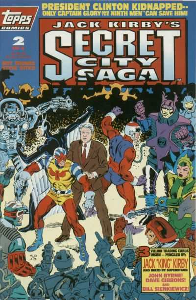 Jack Kirby's Secret City Saga #2 comic books - cover scans photos Jack Kirby's Secret City Saga #2 comic books - covers, picture gallery