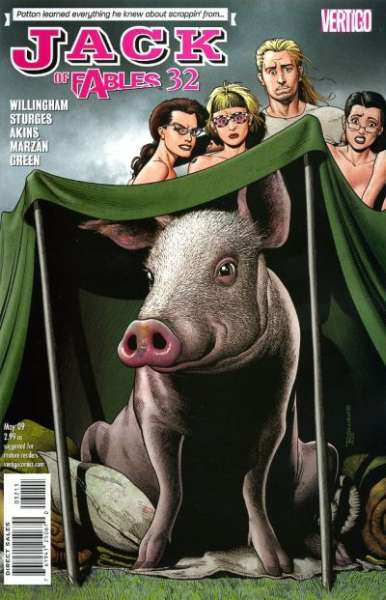 Jack of Fables #32 comic books - cover scans photos Jack of Fables #32 comic books - covers, picture gallery