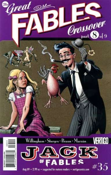 Jack of Fables #35 comic books - cover scans photos Jack of Fables #35 comic books - covers, picture gallery