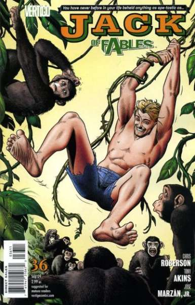 Jack of Fables #36 comic books - cover scans photos Jack of Fables #36 comic books - covers, picture gallery