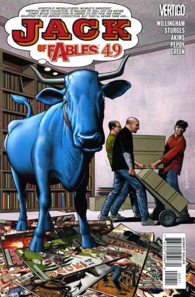 Jack of Fables #49 comic books - cover scans photos Jack of Fables #49 comic books - covers, picture gallery