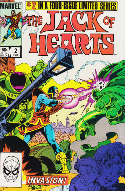 Jack of Hearts #2 Comic Books - Covers, Scans, Photos  in Jack of Hearts Comic Books - Covers, Scans, Gallery