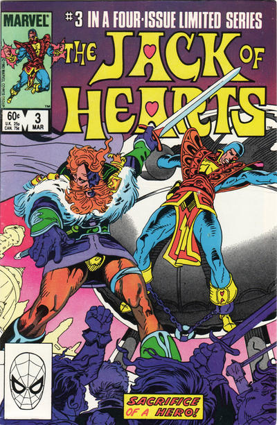 Jack of Hearts #3 Comic Books - Covers, Scans, Photos  in Jack of Hearts Comic Books - Covers, Scans, Gallery