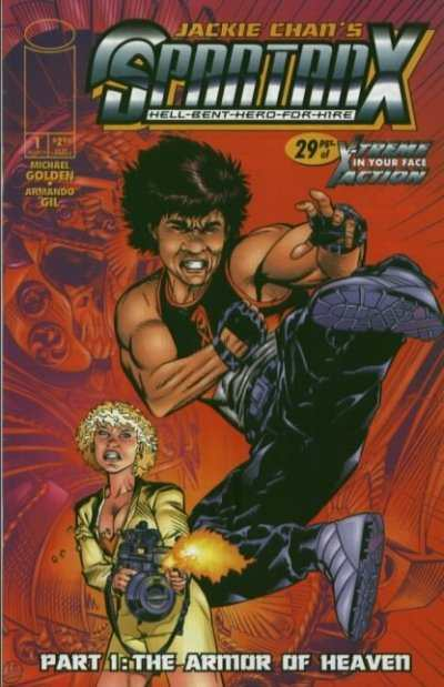 Jackie Chan's Spartan X: Hell Bent Hero for Hire #1 Comic Books - Covers, Scans, Photos  in Jackie Chan's Spartan X: Hell Bent Hero for Hire Comic Books - Covers, Scans, Gallery