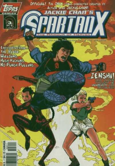 Jackie Chan's Spartan X: Hell Bent Hero for Hire #3 Comic Books - Covers, Scans, Photos  in Jackie Chan's Spartan X: Hell Bent Hero for Hire Comic Books - Covers, Scans, Gallery
