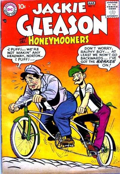 Jackie Gleason and the Honeymooners #11 Comic Books - Covers, Scans, Photos  in Jackie Gleason and the Honeymooners Comic Books - Covers, Scans, Gallery