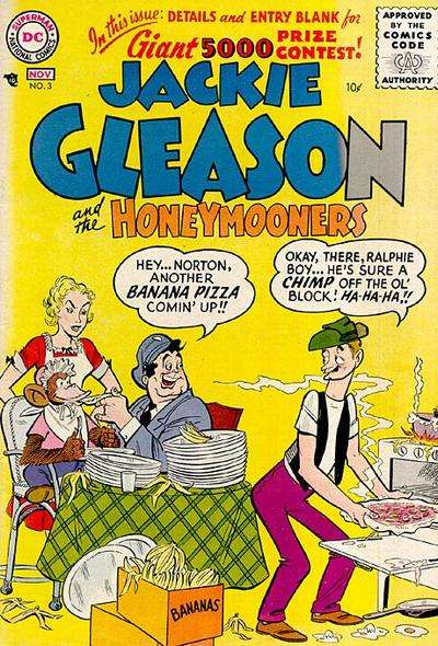 Jackie Gleason and the Honeymooners #3 Comic Books - Covers, Scans, Photos  in Jackie Gleason and the Honeymooners Comic Books - Covers, Scans, Gallery