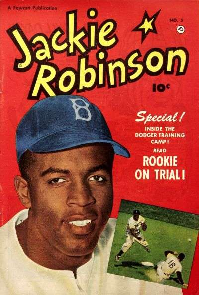 Jackie Robinson #5 comic books - cover scans photos Jackie Robinson #5 comic books - covers, picture gallery