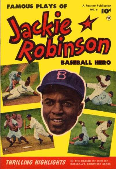 Jackie Robinson #6 comic books - cover scans photos Jackie Robinson #6 comic books - covers, picture gallery