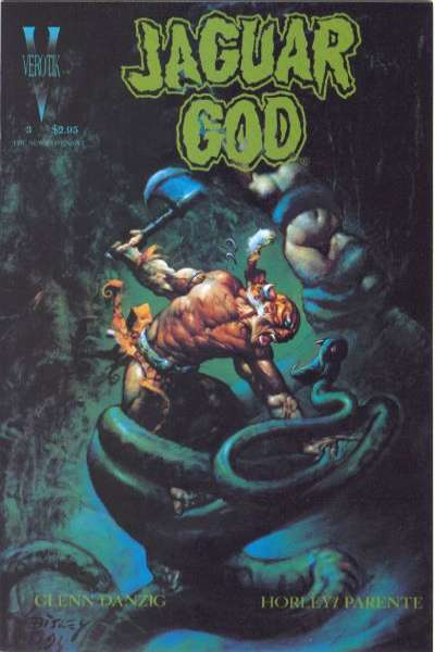 Jaguar God #3 comic books for sale