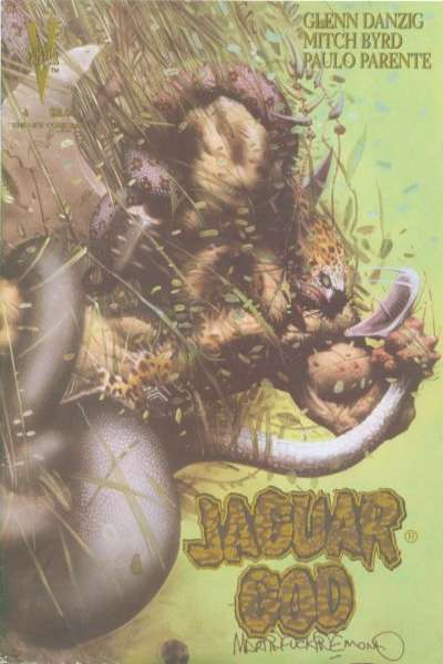 Jaguar God #4 comic books for sale