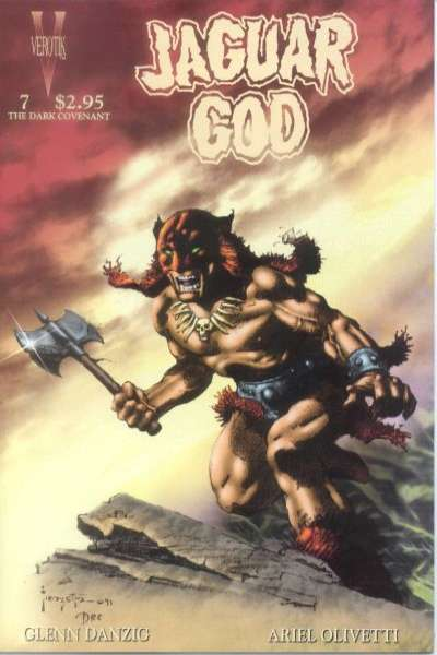 Jaguar God #7 comic books for sale