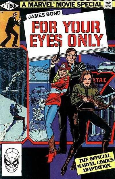 James Bond For Your Eyes Only #1 comic books - cover scans photos James Bond For Your Eyes Only #1 comic books - covers, picture gallery